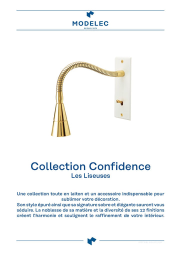 Fiche Collection Confidence Liseuses