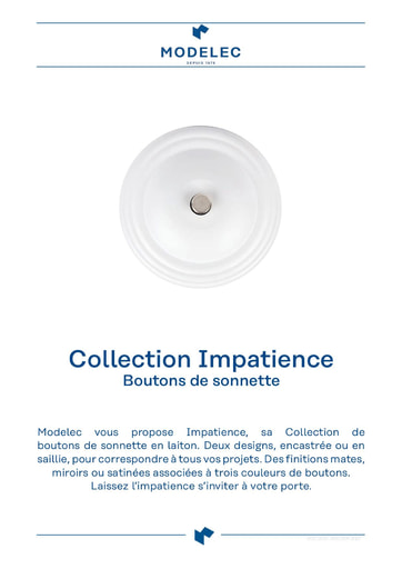 Fiche Collection Impatience