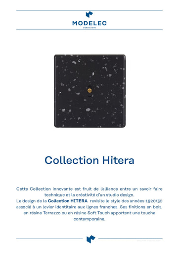Fiche Collection Hitera