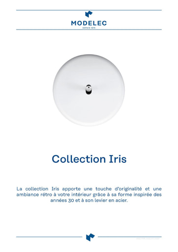 Fiche Collection Iris