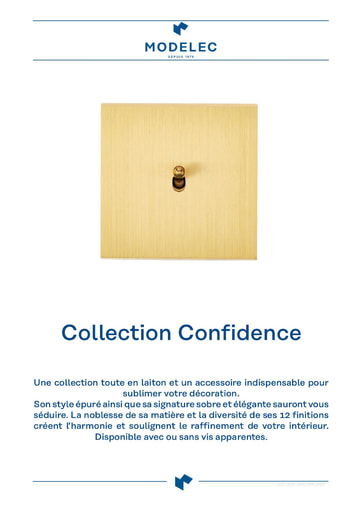 Fiche Collection Confidence