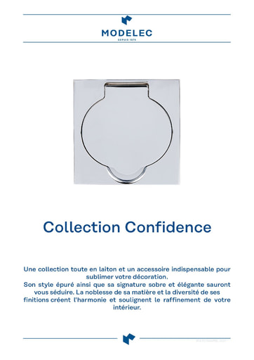Fiche Collection Confidence, prises de sol